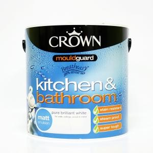 크라운 항 곰팡이 욕실,베란다 페인트(2color)