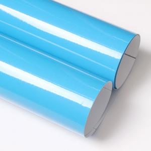 유광 칼라시트지 (3502 Light Blue)