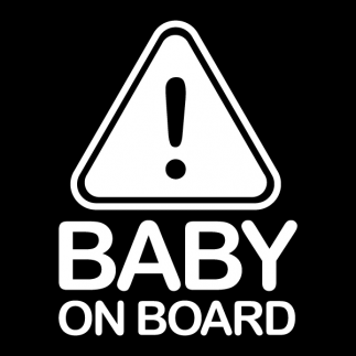 자동차스티커_Baby on Board 02
