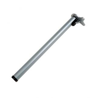 테이블다리/가구다리  원형 실버 접이식 (50Ø)