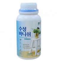 강력한 수성투명 바니쉬(무광,반광,유광) 1L