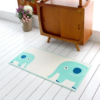 [국내제작 디자인] 코끼리 주방매트