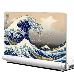 NB101-GH-가쓰시카호쿠사이-The Great Wave-노트북데칼
