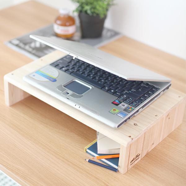[스타일박스] 339. 베이직노트북받침대 - 삼나무 원목 정리 사무용품