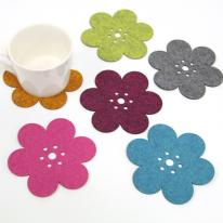 spring flower coaster