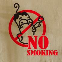 금연스티커_뻐끔뻐끔_No smoking