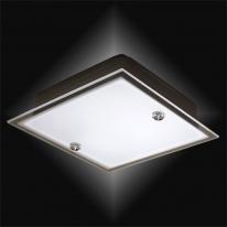 LED 15W  사각직부등(철판) 샌딩유리
