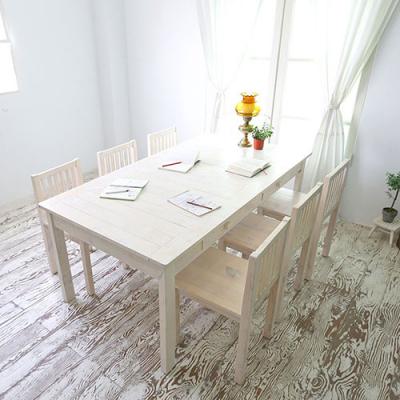 뉴질랜드소나무 회의&작업테이블(대)(white) 1800DESK-W