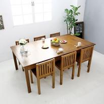 뉴질랜드소나무 8인식탁(white) 2000DESK-A