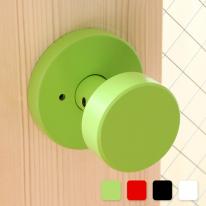 방문손잡이 단추 BBL-301 (4color) (문짝두께 50mm까지 호환)