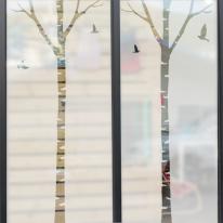 [미스트 스티커]자작나무