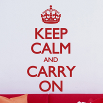 (LU-M105)Keep calm and carry on(중형)