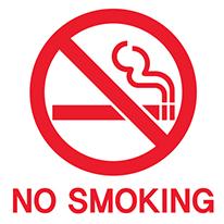 그래픽스티커 - No Smoking 금연
