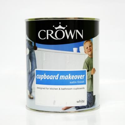 크라운 컵 받침대용 페인트(백색) 750ml