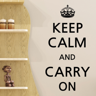 pm081-Keep calm and carry on
