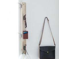 [스타일박스] 370. 트리옷걸이 - 삼나무 원목 벽걸이 옷정리