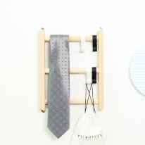 [스타일박스] 372. 사다리옷걸이 - 삼나무 원목 벽걸이 옷정리