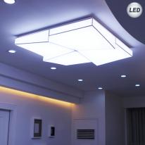 LED 크로스 거실등(스트레치 씰링 시스템)