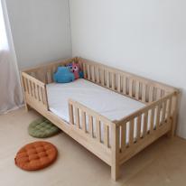 자작 유아 침대(평상형)