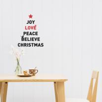 [itstics-Basic] 크리스마스 레터링-joy love