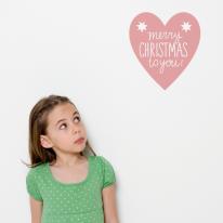 [itstics-Basic] 크리스마스 레터링-heart