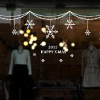 cmi058-크리스마스 눈꽃 모빌 대형