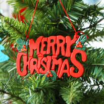 [크리스마스트리장식]크리스마스 레터링(걸이-대)