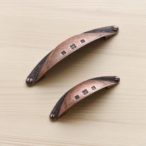 반달 브론즈 가구손잡이 (64mm,96mm)