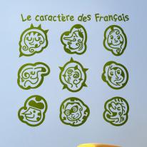 그래픽스티커_프랑스 캐릭터01