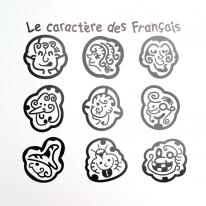 그래픽스티커_프랑스 캐릭터02