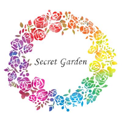 스텐실 도안_비밀의 정원 : Secret Garden(A3)