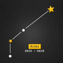(LU-S90) 별자리스티커-양자리