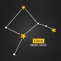 (LU-S96) 별자리스티커-천칭자리