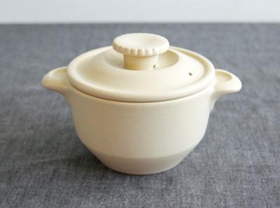 IBUKI 내츄럴 돌솥냄비 아이보리 (뚜껑 한개 제품)