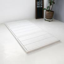 FLAT 슈퍼싱글 침대(white) BED-FLAT-W