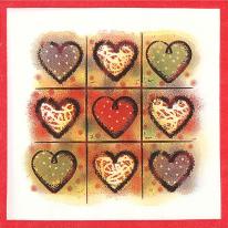 DIY용 냅킨 러브 발렌타인(135)