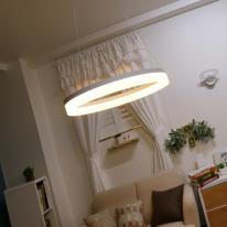 LED 화이트링 팬던트
