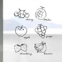 [컬러 안개시트]과일 가게