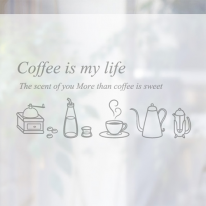 [컬러 안개시트]커피 라이프 02