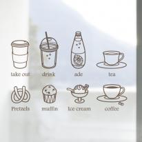 [컬러 안개시트]커피 8종