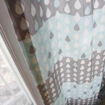 빗방울 커튼 - 블루
