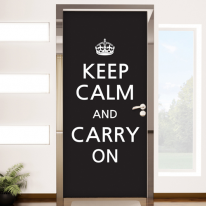 pm085-Keep calm and carry on(블랙)