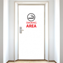 [현관문]흡연구역