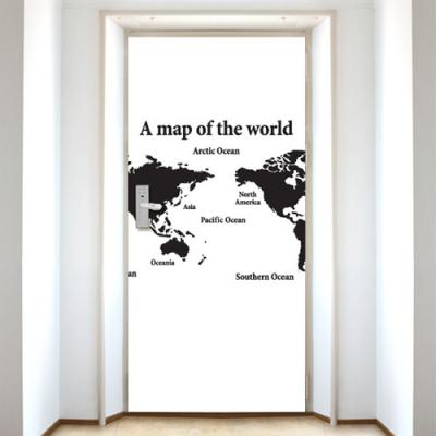 [현관문]세계지도
