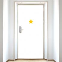 [현관문]심플 옐로우 스타