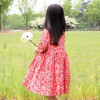 대폭면60수아사>벚꽃엔딩(다홍) (141781)