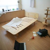 킹사이즈 시즌2 JWK 바그다드 자작나무 친환경 침상 침대 라이트