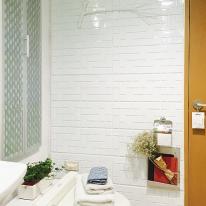 [WM] 실리콘으로 쉽게 욕실에 입체타일 시공하세요/욕실용 퍼니월