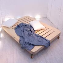 킹사이즈 JWK 바그다드 자작나무 친환경 침상 침대