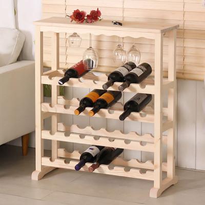 원목와인렉 와인잔걸이 와인거치대 와인장식장